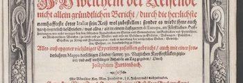 <em>Newes Itinerarium Italiae</em> (1627)