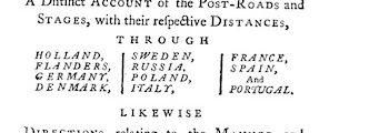 <em>The Grand Tour</em> (1749)