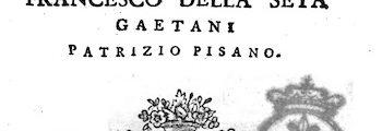 <em>Il forestiero erudito</em> (1773)