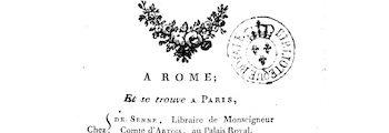<em>Lettres sur l'Italie en 1785</em> (1788)